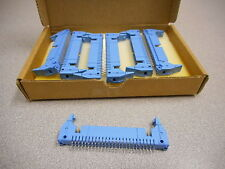 THOMAS & BETTS 609-5024ES ANSLEY CONNECTOR 50PIN MALE HEADER (LOT OF 7)