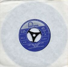 HERD     I DON'T WANT OUR LOVING TO DIE / OUR FAIRY TALE    UK FONTANA   60s POP