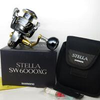 SHIMANO Stella SW6000XG Spinning Reel 6000 XG FEDEX PRIORITY 2DAY TO USa