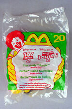 MCDONALDS HAPPY MEAL TOY DISNEY PIXAR TOUR GUIDE BARBIE #20 1999 SEALED