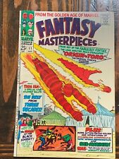 🚚 Fantasy Masterpieces # 11 Marvel 1967 Double-Size 25 cents FN/VF Black Knight