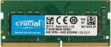 CRUCIAL RAM SO-DDR4 4GB 2400MHZ PC-19200 CT4G4SFS824A