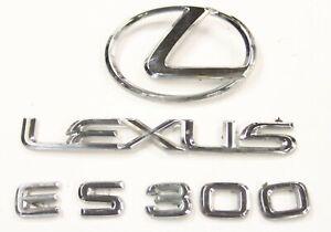 2002 Lexus ES 300 OEM Trunk Deck Lid Emblem Badge Logo Letters 02 03 04