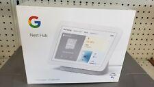 Google GA01331-US Hub 2nd Generation Smart Display - White