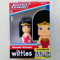 Wonder Woman Metallic Wittles Wooden Kokeshi Doll 2018 SDCC EE Exclusive