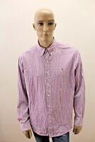 Camicia RALPH LAUREN Uomo Shirt Chemise Man Taglia Size XL