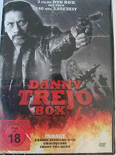 Danny Trejo Sammlung 3 Filme - Zombie auf Alcatraz - Ghostquake - Shoot the Hero