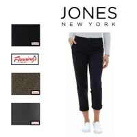 NEW! SALE! Jones New York Women's The Chino Pants VARIETY SIZE & COLOR J61