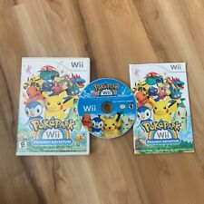 PokePark Wii: Pikachu's Adventure (Nintendo Wii, 2010) With Manual *Tested*