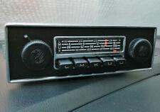 GRUNDIG Ingolstadt Oldtimer Autoradio Chromblende VW Käfer Karmann Ghia -geprüft