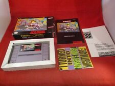 Chester Cheetah Too Cool To Fool Super Nintendo SNES COMPLETE w/ Box manual