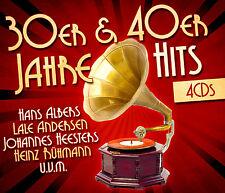 CD 30er und 40er Jahre Hits von Lale Andersen, Heinz Rühmann, Hans Albers  4CDs
