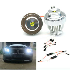 For BMW E60 E61 LCI face lifted 2007-2010 non hid 2x 32W LED CREE Angel Eyes