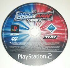 SMACK DOWN VS WRESTLING 2007 - PlayStation 2 PS2 Play Station Game Bambini Gioco