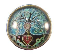 Noosa Style Chunks Snap Button Charms Ginger Snaps Charm Tree Of Life 20mm 071