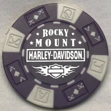 Rocky Mount Harley-Davidson® in Rocky Mount, NC Poker Chip Purple/White NEW