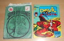 ED.CORNO SERIE DEVIL GIGANTE  N° 28 1977 CON BUSTA ORIGINALE APERTA  N° 7 !!!!!