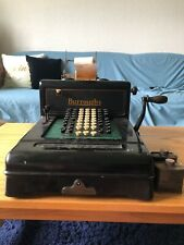 Antique Burroughs Calculator, Series 3-629127. W/ Original Ink.