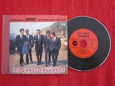 CD SINGLE EP LES CHATS SAUVAGES SHERRY MON COPAIN DICK RIVERS