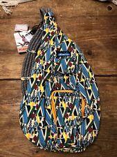 New Kavu Rope Bag, Woodland Art, One Size
