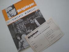 DIRIGIDO POR...Nº 4 - Vicente Minnelli - RARE SPAIN FILM MAG ENE-FEB 1973 Garci