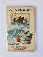 Frank E. Davis Fish Co. Seafoods Gloucester Massachusetts Advertising Booklet