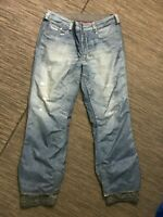 Burton Snowboards Gore Tex Adult Mens XL Distressed Jean Pants