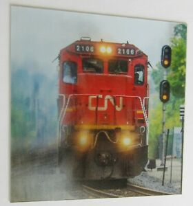 Moving Train C-021 CinemaGraphic Animated Lenticular 3-D Picture Michael Brown