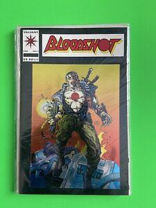 Bloodshot #1 Valiant Comic Book '93 Chrome Cover High Grade Ready For CGC