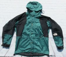 VTG Mens NORTH FACE Mountain Green GORETEX Hooded Vented Jacket Large
