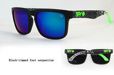 KEN BLOCK SUNGLASSES  MEN CYCLING SPY SUNGLASS BLACK RIMMED-SEPARATINE FULL KIT