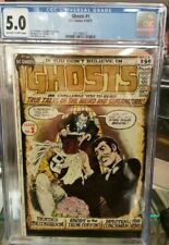 Ghosts #1 CGC 5.0 Comic Book 1971 DC