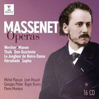 MASSENET: OPERN (16 CDS) - PLASSON/PRETRE/MAAZEL/BOUTRY/MONTEUX  16 CD NEU