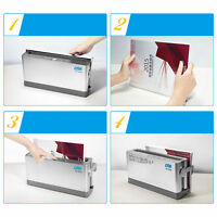 A4 Binding Cover Electric Document Hot-melt Thermal Binder 10 Sheets 1~10mm