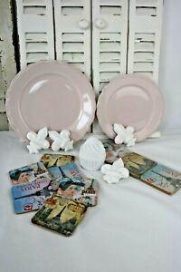 8tlg. Geschenk Paket/ Untersetzer/ Cupcake/ Teller/ Deko/ Lilie +Gratis Tasche