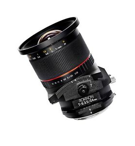 Rokinon 24mm F3.5 Wide Angle Tilt Shift Lens for Nikon - TSL24M-N