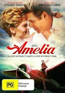 AMELIA DVD RICHARD GERE HILARY SWANK  DVD REGION 4 NEW AND SEALED