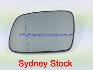 LEFT PASSENGER SIDE HEATED MIRROR GLASS FOR PEUGEOT 307 2001-2008