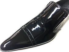 CHELSY Designer LACCA Scarpe di cuoio Business partito Pantofola fatto a mano 39