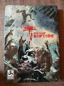 Dead Island Riptide Xbox 360 Steelbook (NO GAME, CASE ONLY)