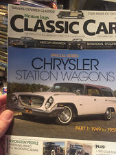 Hemmings Classic Car Magazine December 2013- Chrysler Station Wagons