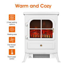 1850W Electric Fireplace Heater Fire Living Room Stove Log Burning Flame Effect