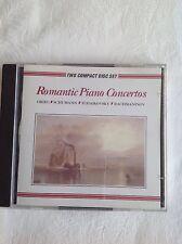 Romantic Piano Concertos 2CD set