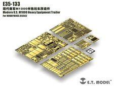 ET Model 1/35 #E35133 M1000 HET Semi-Trailer Detail Up Set for Hobby Boss 85502