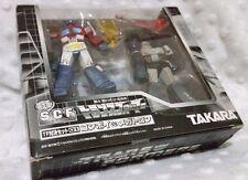 TransFormers SCF 01 Optimus Prime vs Megatron PVC Leader Takara Movie Lot G1 TLK