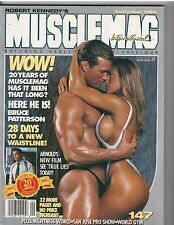 MUSCLEMAG bodybuilding muscle magazine/MIKE O'HEARN & CHRISTY WALKER 9-94 #147