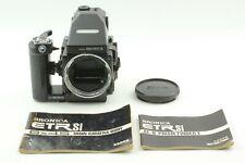 [Near Mint] Bronica ETR Si 6x4.5 Camera AEIII Finder 120 Film Back From Japan