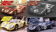 Calcas Ford MkIV Le Mans 1967 1:32 1:24 1:43 1:18 64 87  GT40 MkII decals