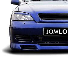 Kühlergrill, Frontgrill ohne Emblem für Opel Astra G in schwarz! Top-Qualität!
