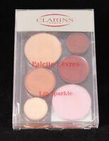 Clarins Shimmery Lip Gloss Palette Sparkle Sun Drops Full Size 0.28 oz Brand New